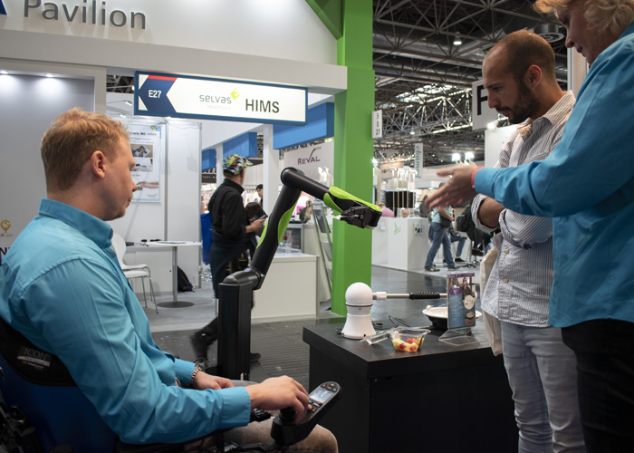 Rehacare 2019 Using the iARM